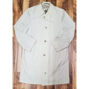 Hart Schaffner & Marx Khaki Over Coat. Brand New!